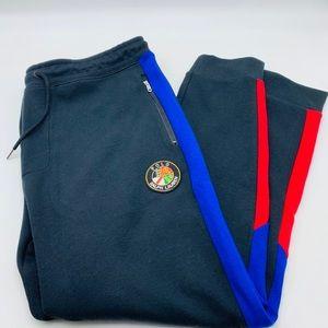 Polo Ralph Lauren performance sweats red blue blac